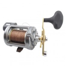 Shimano Tekota Line Counter Reel - Prespooled Wire Line
